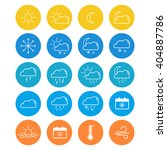 weather icon | Shutterstock .eps vector #404887786