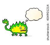cartoon little fire demon with... | Shutterstock .eps vector #404901214