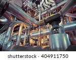 equipment  cables and piping as ... | Shutterstock . vector #404911750