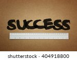 measure your success concepts | Shutterstock . vector #404918800