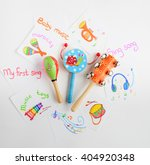 toy musical instruments... | Shutterstock . vector #404920348