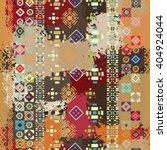 Ethnic Boho Seamless Pattern....