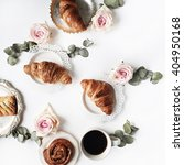 Breakfast With Croissants  Pin...