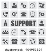 support icons set | Shutterstock .eps vector #404953924
