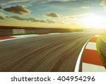 motion blurred racetrack...