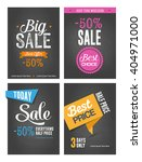 collection of typographic... | Shutterstock .eps vector #404971000