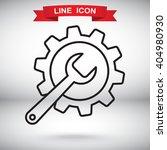 line icon    gear
