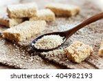 sesame seed and sesame dessert... | Shutterstock . vector #404982193