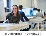 startup business  software... | Shutterstock . vector #404986114
