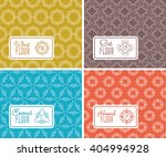 seamless logo with label for... | Shutterstock .eps vector #404994928