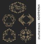 elegant monogram design. vector ... | Shutterstock .eps vector #404994964