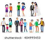 detailed character people.... | Shutterstock .eps vector #404995453