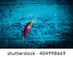 fishing lure in action | Shutterstock . vector #404998669