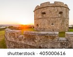 Aged Stone Fortress The...