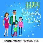 happy parents day background ... | Shutterstock .eps vector #405002416