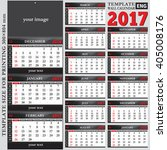english template wall quarterly ... | Shutterstock .eps vector #405008176