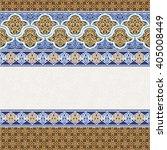 ethnic boho seamless pattern.... | Shutterstock .eps vector #405008449