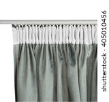 fragment of the green curtain...   Shutterstock . vector #405010456