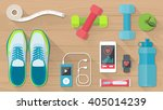 sports and physical activity... | Shutterstock .eps vector #405014239