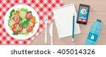 food  diet  healthy lifestyle... | Shutterstock .eps vector #405014326