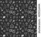 hand drawn doodle sport... | Shutterstock .eps vector #405016444