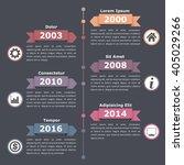 vertical timeline infographics...