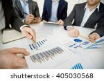 financial report | Shutterstock . vector #405030568