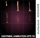 Lightning Animation. Game...