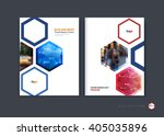 abstract cover design  business ... | Shutterstock .eps vector #405035896