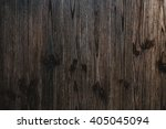 Texture Of Dark  Brown Wooden...