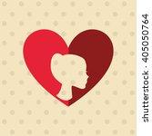 family love design    Shutterstock .eps vector #405050764