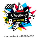 vector illustration of colorful ... | Shutterstock .eps vector #405076558