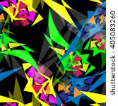modern bright light color... | Shutterstock .eps vector #405083260