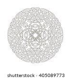 mandala in esoteric style. set... | Shutterstock .eps vector #405089773