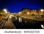 bridge over carroll creek at... | Shutterstock . vector #405102724