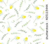 seamless floral pattern with... | Shutterstock .eps vector #405115444