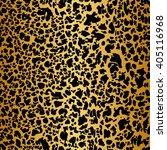 vector leopard print texture... | Shutterstock .eps vector #405116968