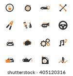 car shop  icon set for web... | Shutterstock .eps vector #405120316