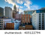 view of buildings along lombard ... | Shutterstock . vector #405122794
