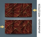 brochure template with abstract ... | Shutterstock . vector #405129226