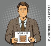 Man With Missing Cat Ads Pop...