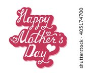 happy mother's day. mothers day ... | Shutterstock .eps vector #405174700
