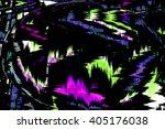 abstract futuristic globe. art... | Shutterstock . vector #405176038