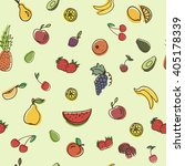 vector seamless pattern with... | Shutterstock .eps vector #405178339
