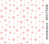 seamless background hearts... | Shutterstock .eps vector #405179338