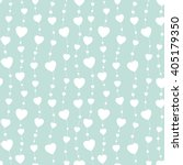 seamless background hearts... | Shutterstock .eps vector #405179350