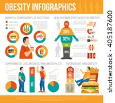 infographic showing harmful of... | Shutterstock .eps vector #405187600