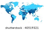 Detailed Map Of The World With...