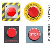 emergency stop button | Shutterstock .eps vector #405194314