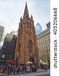 new york  usa   april 24  2015  ...   Shutterstock . vector #405206668